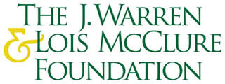 The J. Warren & Lois McClure Foundation logo