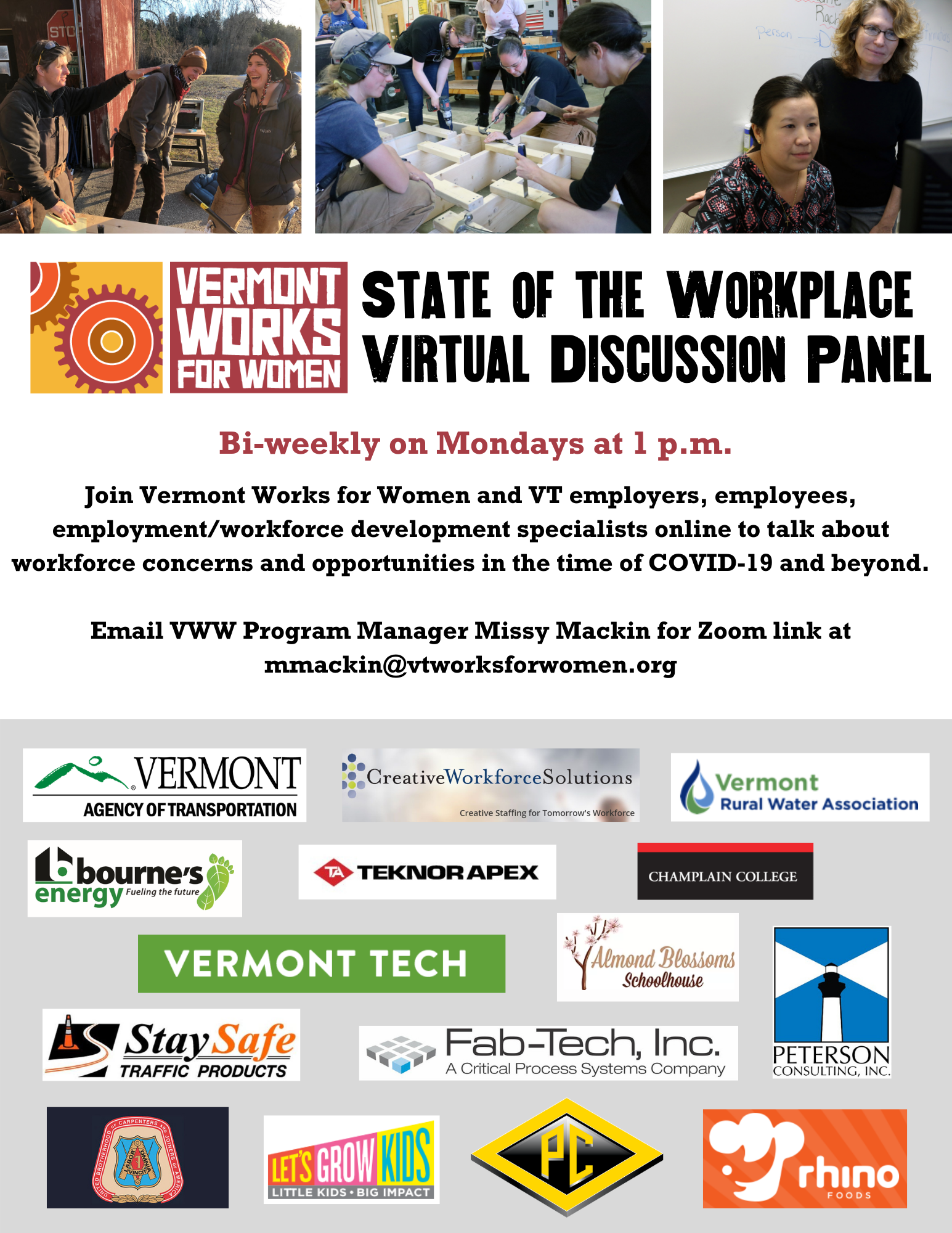 State of the Workforce Virtual Discussion Panels