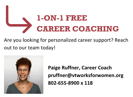 Contact Paige Ruffner for Free Career and Mentoring Support