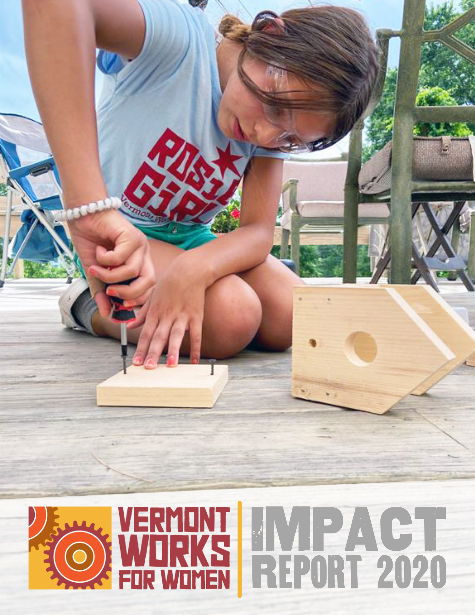 2020 Impact Report front cover