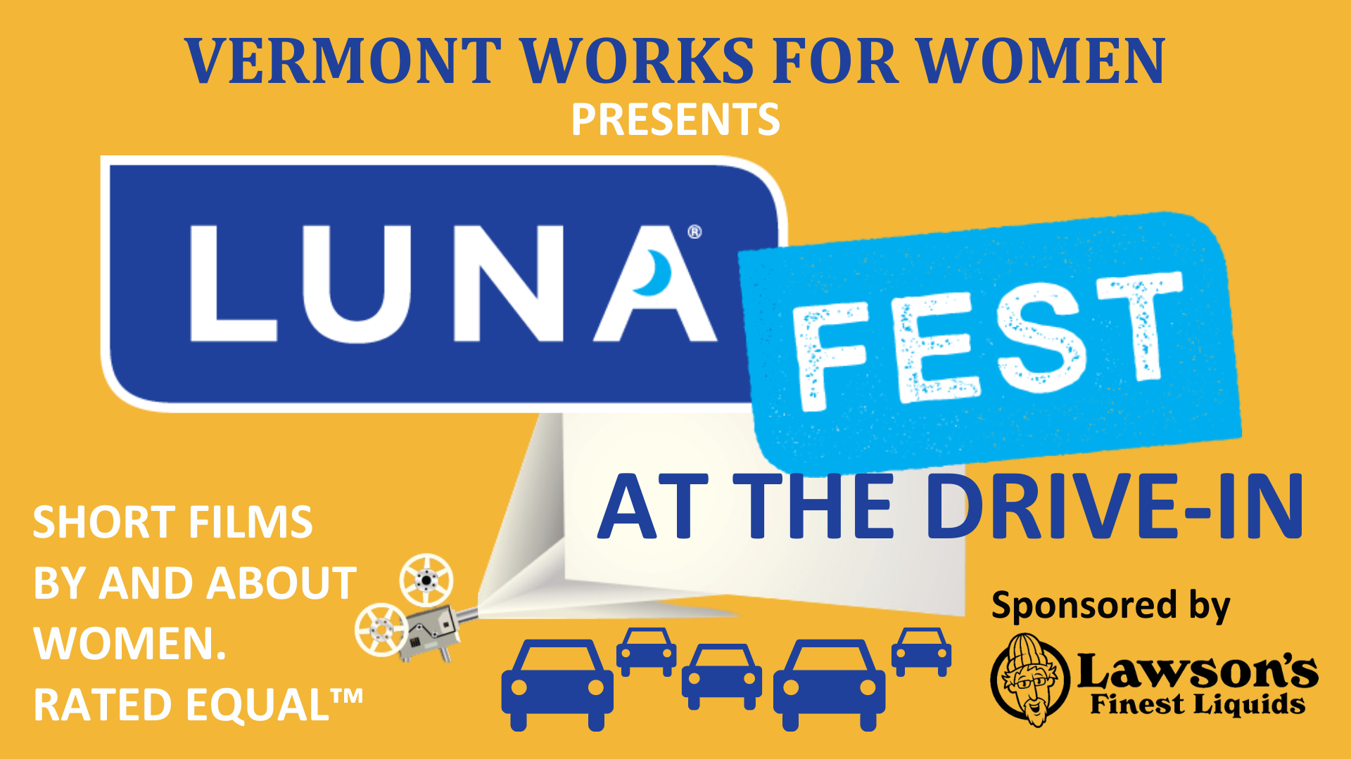 Lunafest at the Drive-In